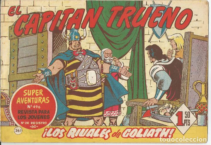 EL CAPITÁN TRUENO CUADERNILLO ORIGINAL LOTE 21 Nº EDITORIAL BRUGUERA (Tebeos y Comics - Bruguera - Capitán Trueno)