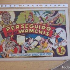Tebeos: BRUGUERA,. UNA AVENTURA DE BRICK BRADFORD Nº 4 PERSEGUIDO POR LOS WAMCHIS . Lote 90373236