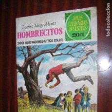 Tebeos: (F1) JOYAS LITERARIAS Nº 127 AÑO 1975 ( HOMBRECITOS) 1ª EDICIÓN. Lote 90443674