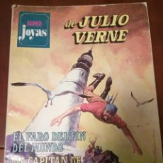 Tebeos: CUENTO SUPER JOYAS DE JULIO VERNE AÑO 1977 DE BRUGUERA,TRES HISTORIAS. Lote 90768834