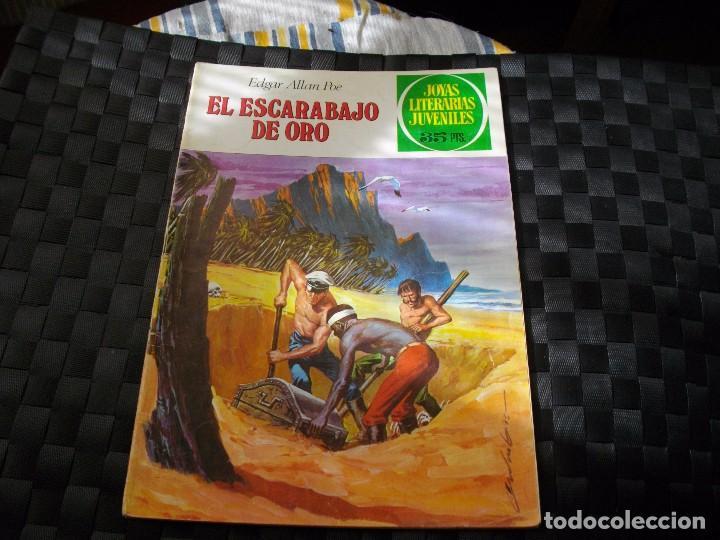 JOYAS LITERARIAS JUVENILES Nº 88 EL ESCARABAJO DE ORO EL DE LAS FOTOS VER TODOS MIS LOTES DE COMICS (Tebeos y Comics - Bruguera - Joyas Literarias)