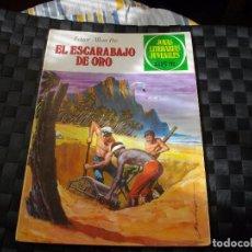 Tebeos: JOYAS LITERARIAS JUVENILES Nº 88 EL ESCARABAJO DE ORO EL DE LAS FOTOS VER TODOS MIS LOTES DE COMICS. Lote 90858455