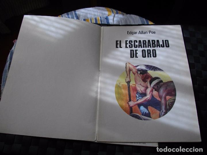 Tebeos: JOYAS LITERARIAS JUVENILES Nº 88 EL ESCARABAJO DE ORO EL DE LAS FOTOS VER TODOS MIS LOTES DE COMICS - Foto 2 - 90858455
