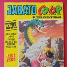 Tebeos: JABATO COLOR EXTRA Nº 12 - LA ISLA DE RAA -TERCERA EPOCA -EDITORIAL BRUGUERA -1978.. R -6464. Lote 143245576