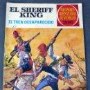 Tebeos: EL SHERIFF KING EL TREN DESAPARECIDO GRANDES AVENTURAS JUVENILES Nº 6 ED BRUGUERA 1975. Lote 90977350