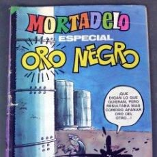 Tebeos: MORTADELO ESPECIAL ORO NEGRO Nº 102 ED BRUGUERA 1981. Lote 245587455