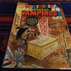 Tebeos: MORTADELO ESPECIAL Nº 10 VAMPIROS CON INSPECTOR DAN. BRUGUERA 1976. 40 PTS. BUEN ESTADO Y DIFÍCIL.. Lote 91129180