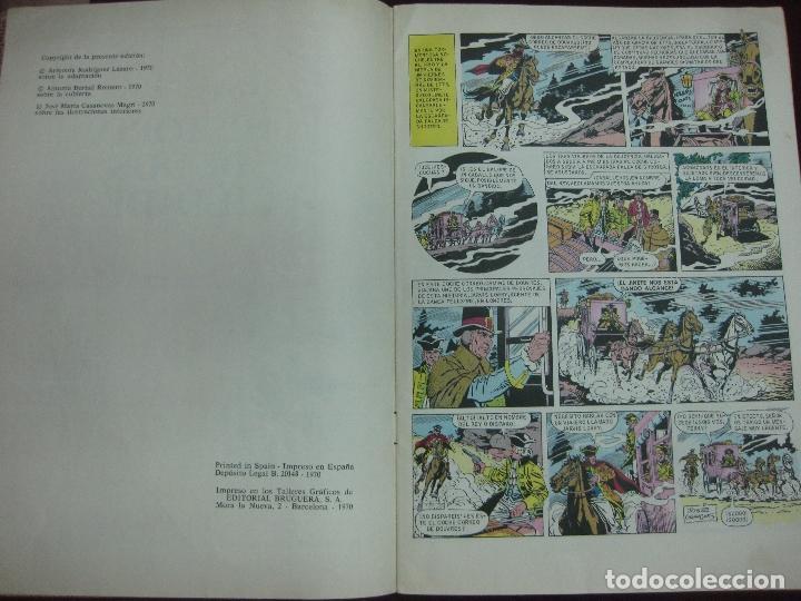 Tebeos: HISTORIA DE DOS CIUDADES. DICKENS. JOYAS LITERARIAS JUVENILES. BRUGUERA 1970. CONTRAPORTADA BLANCA. - Foto 2 - 91135370
