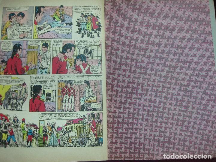Tebeos: HISTORIA DE DOS CIUDADES. DICKENS. JOYAS LITERARIAS JUVENILES. BRUGUERA 1970. CONTRAPORTADA BLANCA. - Foto 3 - 91135370