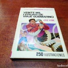 Tebeos: COLECCIÓN HISTORIAS SELECCIÓN Nº 1 BRUGUERA 1ª EDICIÓN 1967: VEINTE MIL LEGUAS DE VIAJE SUBMARINO. Lote 91269315