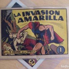 Tebeos: BRUGUERA,- EL HOMBRE DE LA ESTRELLA Nº 3 LA INVASIÓN AMARILLA. Lote 91304025