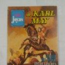 Tebeos: SUPER JOYAS DE KARL MAY Nº 45. BRUGUERA 1981. LA HIJA DEL JEQUE. ENTRE APACHES Y COMANCHES. TDKC24. Lote 91346085
