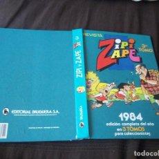 Tebeos: ANTIGUO TOMO Nº 3 ZIPI ZAPE 1984 EDICION COMPLETA DEL AÑO . Lote 91386475