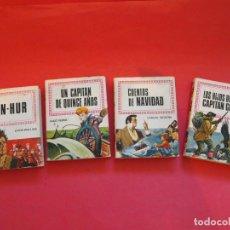 Tebeos: 4 LIBRO-CÓMIC HISTORIAS INFANTIL Nº 5, 16, 17 Y 18 - BRUGUERA 1ª Y 2ª ED. 1969 - 1974. Lote 91437240