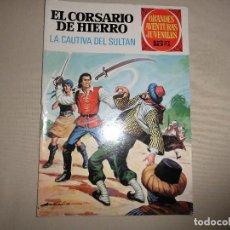 Tebeos: EL CORSARIO DE HIERRO Nº 53 BRUGUERA 1ª EDICION. Lote 117972120
