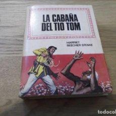 Tebeos: LA CABAÑA DEL TÍO TOM. HARRIET BEECHER STOWE. BRUGUERA. HISTORIAS INFANTIL. 1971. 1ª EDICIÓN. Lote 91796275