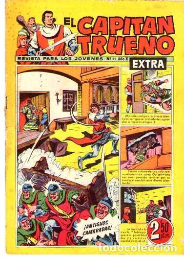 EL CAPITAN TRUENO (EXTRA) (BRUGUERA) Nº 49 (Tebeos y Comics - Bruguera - Capitán Trueno)