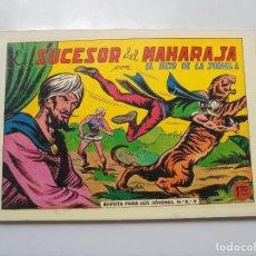 Tebeos: ALMANAQUE CON 7 COMICS DE ''EL HIJO DE LA JUNGLA'' EL SUCESOR DEL MARAHA DE LOS AÑOS 83 REEDICION. Lote 92062020