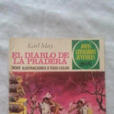Tebeos: JOYAS LITERARIAS - Nº139 - 1ª EDICION 1975 - EL DIABLO DE LA PRADERA. Lote 92107360