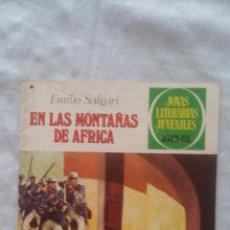 Tebeos: JOYAS LITERARIAS - Nº181 - 1ª EDICION 1977 - EN LAS MONTAÑAS DE AFRICA. Lote 92107655
