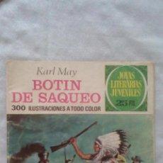 Tebeos: JOYAS LITERARIAS - Nº87 - 2ª EDICION 1977 - BOTIN DE SAQUEO. Lote 92109235