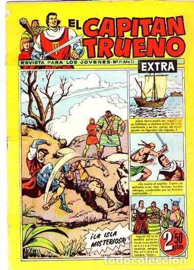 EL CAPITAN TRUENO (EXTRA) (BRUGUERA) Nº 71 (Tebeos y Comics - Bruguera - Capitán Trueno)