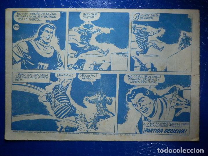 Tebeos: TEBEO - COMIC - EL CAPITAN TRUENO - PERSECUCIÓN EN LA NOCHE - BRUGUERA - Nº 194 - ORIGINAL - Foto 2 - 92236895