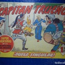 Tebeos: TEBEO - COMIC - EL CAPITAN TRUENO - DUELO SINGULAR - BRUGUERA - Nº 191 - ORIGINAL. Lote 92236900