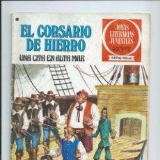 Tebeos: EL CORSARIO DE HIERRO Nº 46. JOYAS LITERARIAS JUVENILES. BRUGUERA. 1978. Lote 92257190