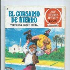 Tebeos: EL CORSARIO DE HIERRO Nº 49. JOYAS LITERARIAS JUVENILES. BRUGUERA. 1978. Lote 92257590