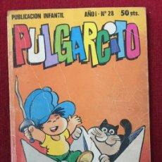 Tebeos: COMIC PULGARCITO Nº 28 AÑO I.. Lote 92297250