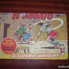Tebeos: (F.1) EL JABATO Nº 710 ( ¡EL ELEFANTE FANTASMA! . Lote 92334155