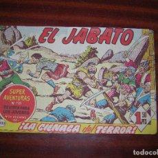 Tebeos: (F.1) EL JABATO Nº 725 ( ¡LA CIÉNAGA DEL TERROR! . Lote 92334295