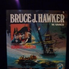 Tebeos: BRUCE J. HAWKER. RUMBO A GIBRALTAR. Lote 92643255