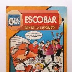Tebeos: ESCOBAR - REY DE LA HISTORIETA, NÚMERO 291. COLECCIÓN OLÉ. EDITORIAL BRUGUERA. AÑO 1984.. Lote 92748535