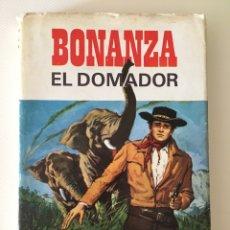 Tebeos: BONANZA - EL DOMADOR - HÉROES SELECCIÓN BRUGUERA NÚMERO 6. Lote 92936468
