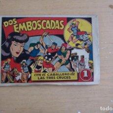Tebeos: BRUGUERA,- EL CABALLERO DE LAS TRES CRUCES Nº 2. Lote 93131015