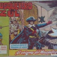 Tebeos: EL MOSQUETERO AZUL LOTE DE 19 NÚMEROS. Lote 93189380