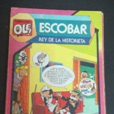 Tebeos: ESCOBAR REY DE LA HISTORIETA COLECCIÓN OLÉ Nº 297 EDITORIAL BRUGUERA AÑO 1984. Lote 93265100