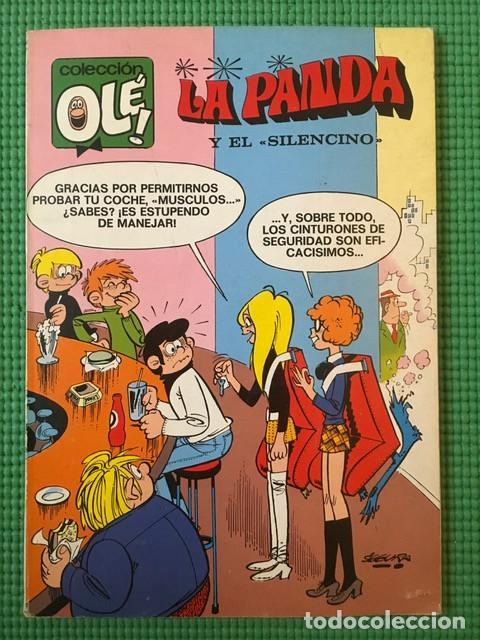 COLECCIÓN OLÉ Nº 40 - LA PANDA Y EL SILENCINO - 1ª EDICIÓN - MUY BUEN ESTADO (Tebeos y Comics - Bruguera - Ole)
