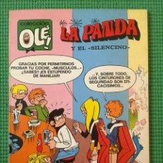 Tebeos: COLECCIÓN OLÉ Nº 40 - LA PANDA Y EL SILENCINO - 1ª EDICIÓN - MUY BUEN ESTADO. Lote 93323585
