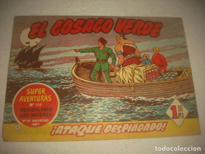 EL COSACO VERDE N° 7 .ATAQUE DESPIADADO ! . (Tebeos y Comics - Bruguera - Cosaco Verde)