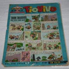Tebeos: TIO VIVO Nº 189 1964, REVISTA JUVENIL SEMANAL, 29 OCTUBRE 1964, COMIC TEBEO. Lote 93624305