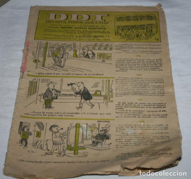 DDT Nº 705, REVISTA JUVENIL, NOVIEMBRE 1964, COMIC TEBEO ANTIGUO (Tebeos y Comics - Bruguera - DDT)