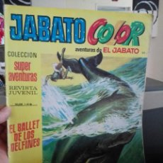 Tebeos: JABATO COLOR Nº 1418. EL BALLET DE LOS DELFINES. BRUGUERA 1972. Lote 98368663
