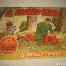 Tebeos: EL COSACO VERDE N° 22. EL CASTILLO DE DRAGO ! .. Lote 93651750