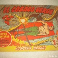 Tebeos: EL COSACO VERDE N° 24. CONTRA DRAGO ! .. Lote 93652550