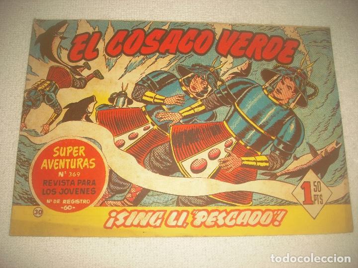 EL COSACO VERDE N° 30. SING LI PESCADO ! . (Tebeos y Comics - Bruguera - Cosaco Verde)