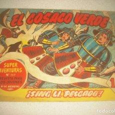 Tebeos: EL COSACO VERDE N° 30. SING LI PESCADO ! .. Lote 93654005