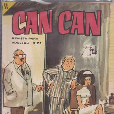 Tebeos: COMIC COLECCION CAN CAN Nº 22. Lote 93690275